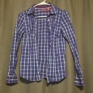 IZOD Long Sleeve Button Up